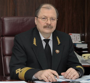 Director General of OAO «Murmansk Shipping Company» Alexander Mikhailovich Medvedev